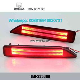 Honda BRV CR-V City LED Rear Bumper Brake lights