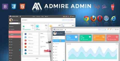 London : Admire Bootstrap 4 Admin Laravel Template Web services