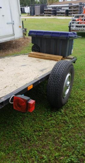 Motorcycle Utility Trailer