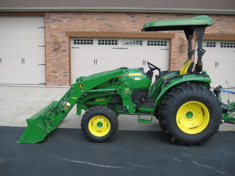 St  George : John Deere 4052r 50hp Tractor With Mx8 Mower Tractors