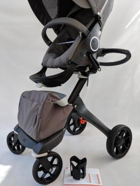 New Stokke Xplory V5 Stroller Athleisure Grey Limited Editio