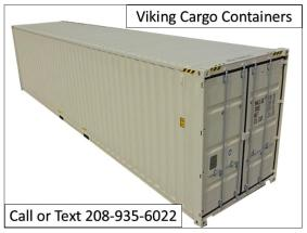 Cargo Containers For Sale  40ft  lewiston Id