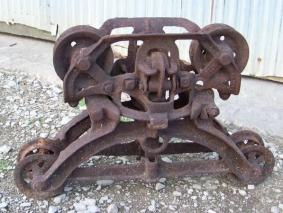 Antique Barn Fresh Iron Hay Trolley