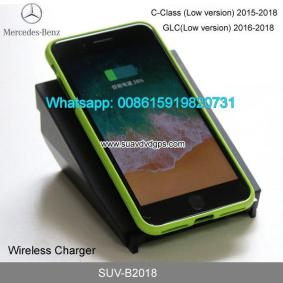 Benz C Class Glc Car Wireless Charger Quick Charge Fast