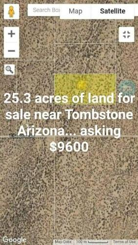 Land For Sale Bowie Arizona