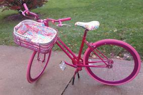 Lilly Pulitzer Designer Bike