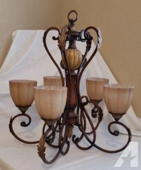 Hampton Bay Chateau Deville Chandelier