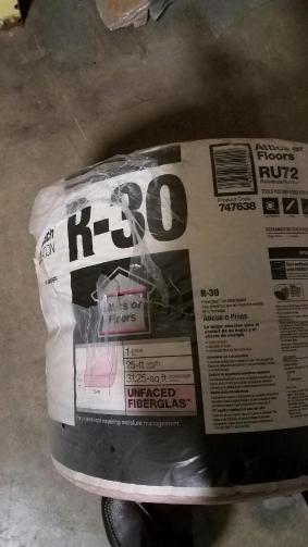 Owens Corning Insulation  rolls Unfaced