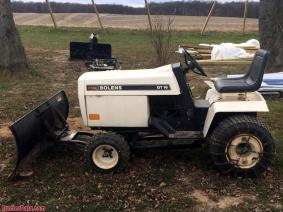 1973 Bolens Tractor With Blade