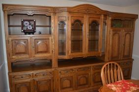 Oak Cabinetry German Shrunck