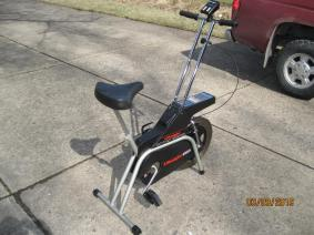 Dual Use Stationary Bicycle