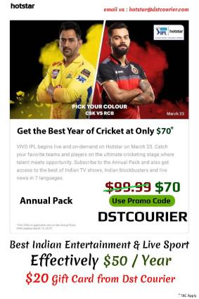 Best Indian Entertainment And Live Sports