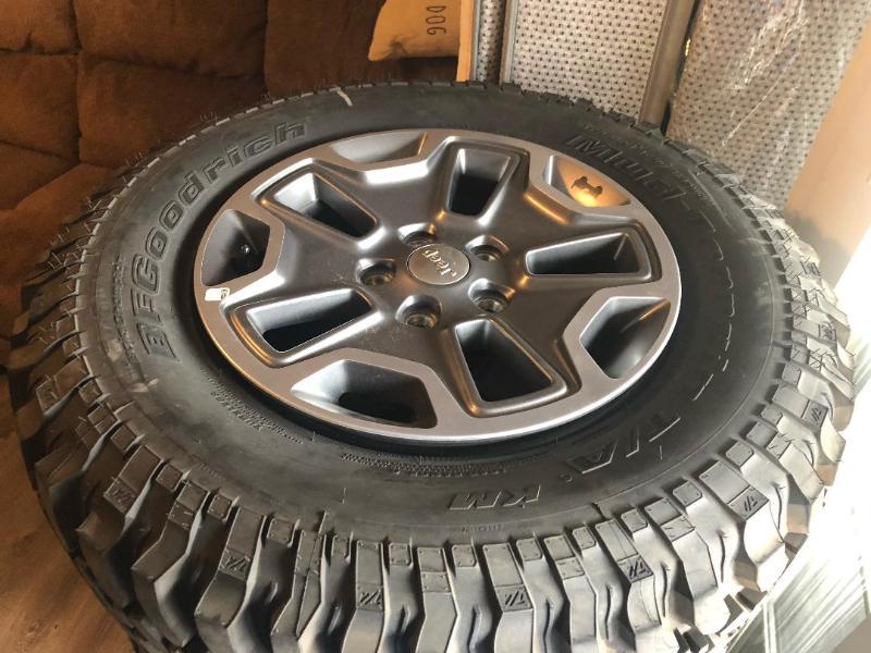 Used Tires Colorado Springs >> Colorado Springs Jeep Wrangler Rubicon Wheels And Tires