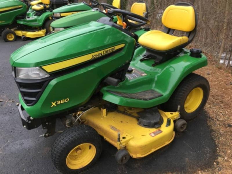 Parkersburg John Deere X 380 Used Lawn Mowers For Sale